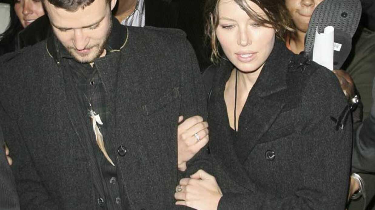PHOTOS Jessica Biel scotchée à Justin Timberlake en plein New York
