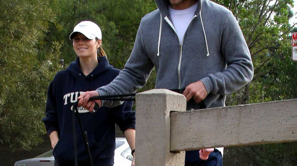 Justin Timberlake et Jessica Biel sortent les chiens