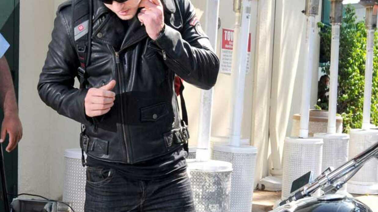 PHOTOS Justin Timberlake fier de sa Harley Davidson