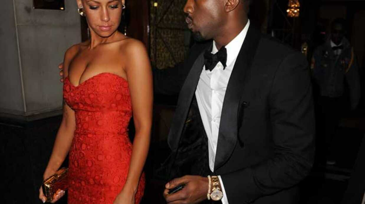 PHOTOS  Kanye West roucoule toujours avec la sexy Amber Rose