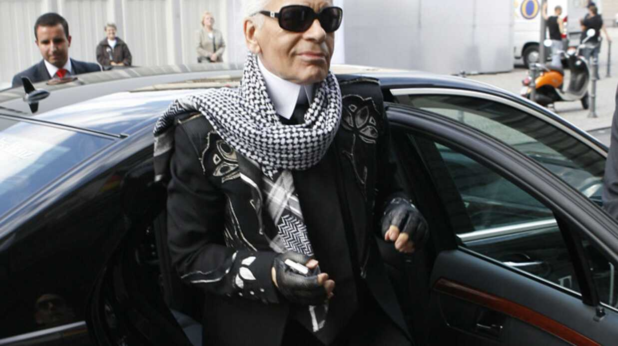 Karl Lager­fled à la Fashion Week de Berlin