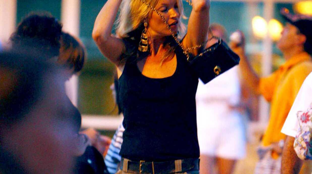Kate Moss en vacances à Ibiza