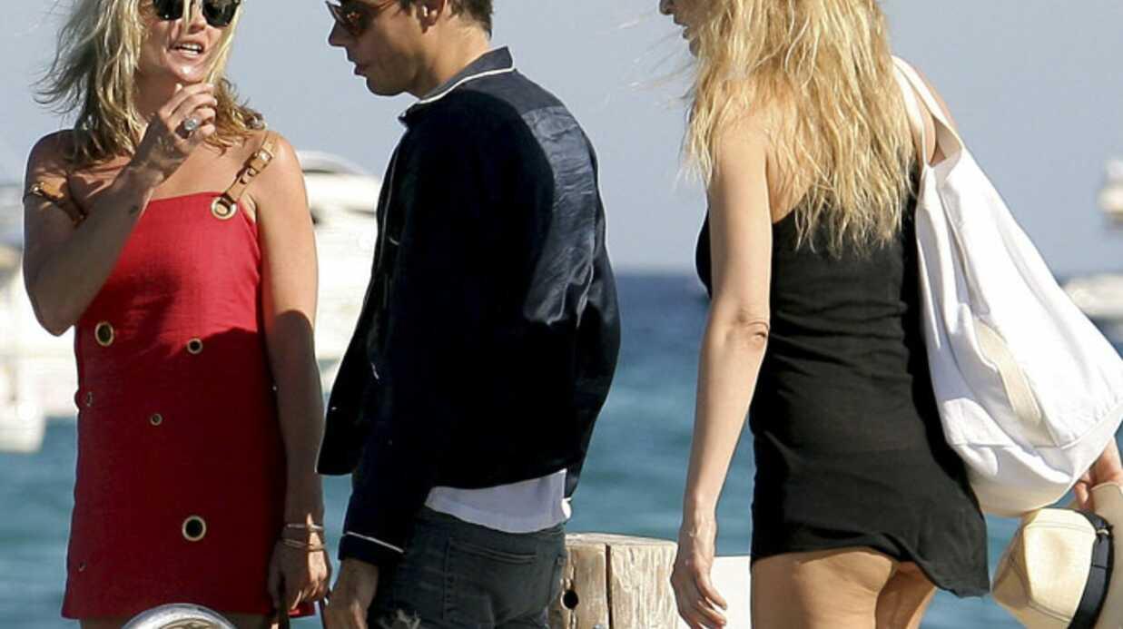 PHOTOS Kate Moss à Saint Tropez avec sa copine Karen Mulder