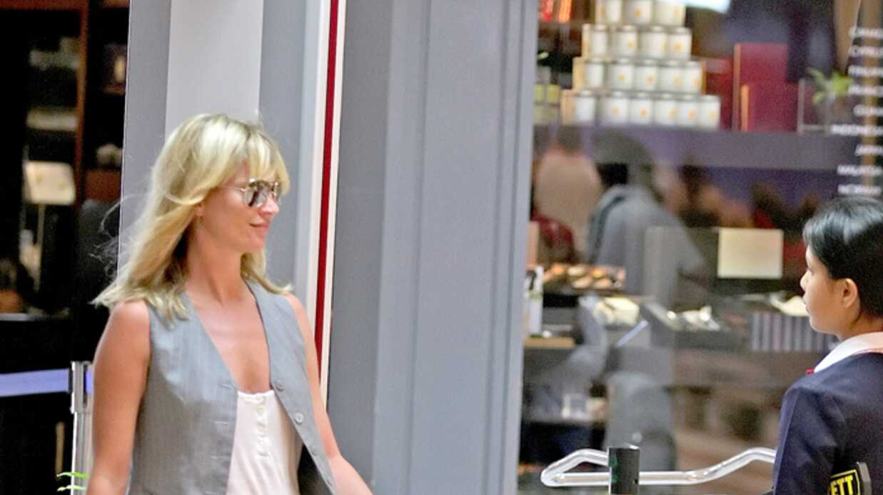 Kate Moss Défilé haute suveillance