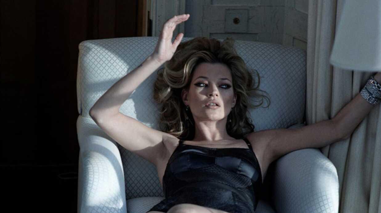 PHOTOS Kate Moss: torride et sexy pour Harper's Bazaar