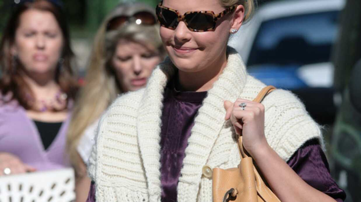 PHOTOS Kathe­rine Heigl a adopté