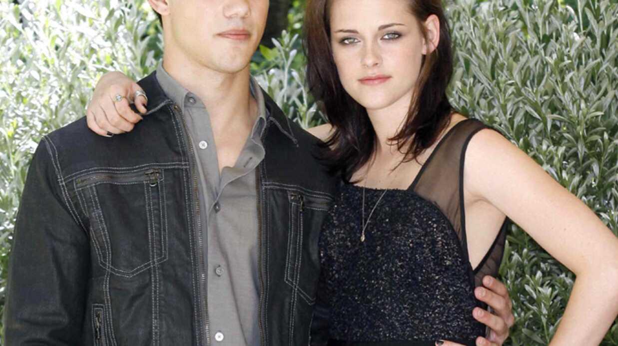 PHOTOS Kristen Stewart et Taylor Lautner en promo pour Twilight