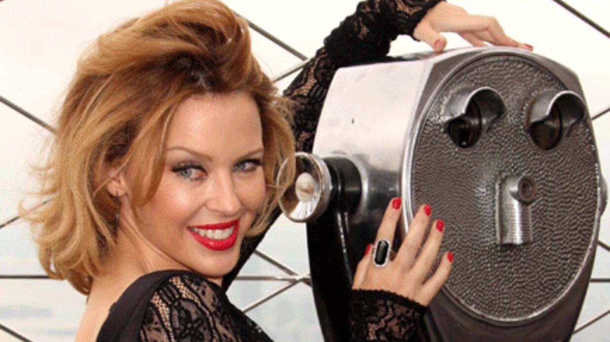 PHOTOS Kylie Minogue joueuse et mutine sur l'empire state building