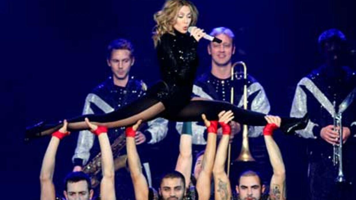 PHOTOS Kylie Minogue sexy et spectaculaire sur scène