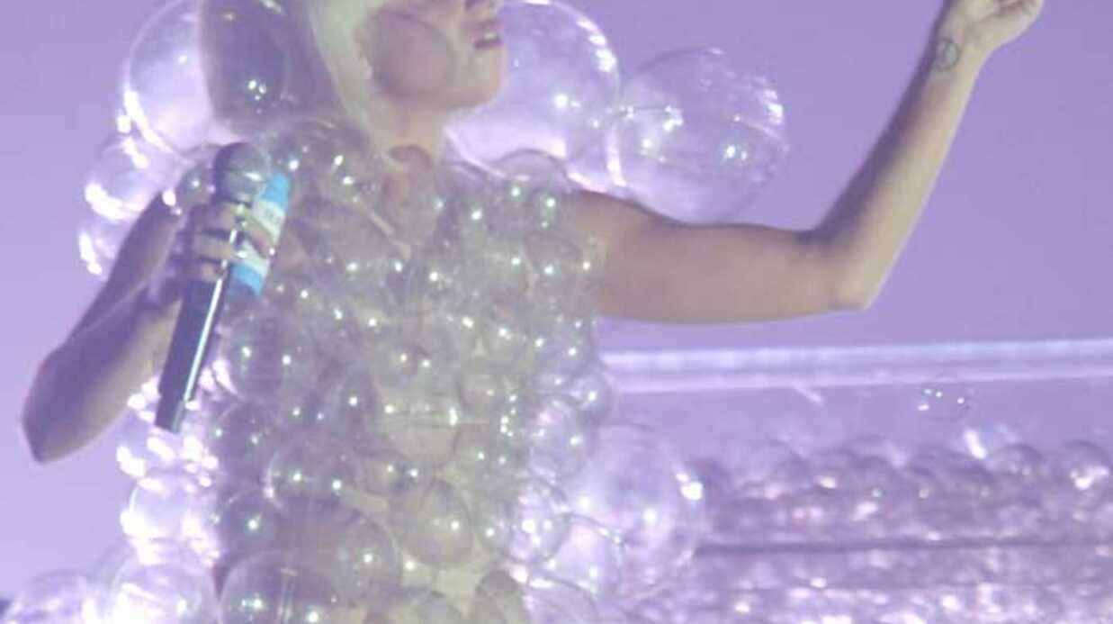PHOTOS Lady Gaga: des tenues de scène provocantes