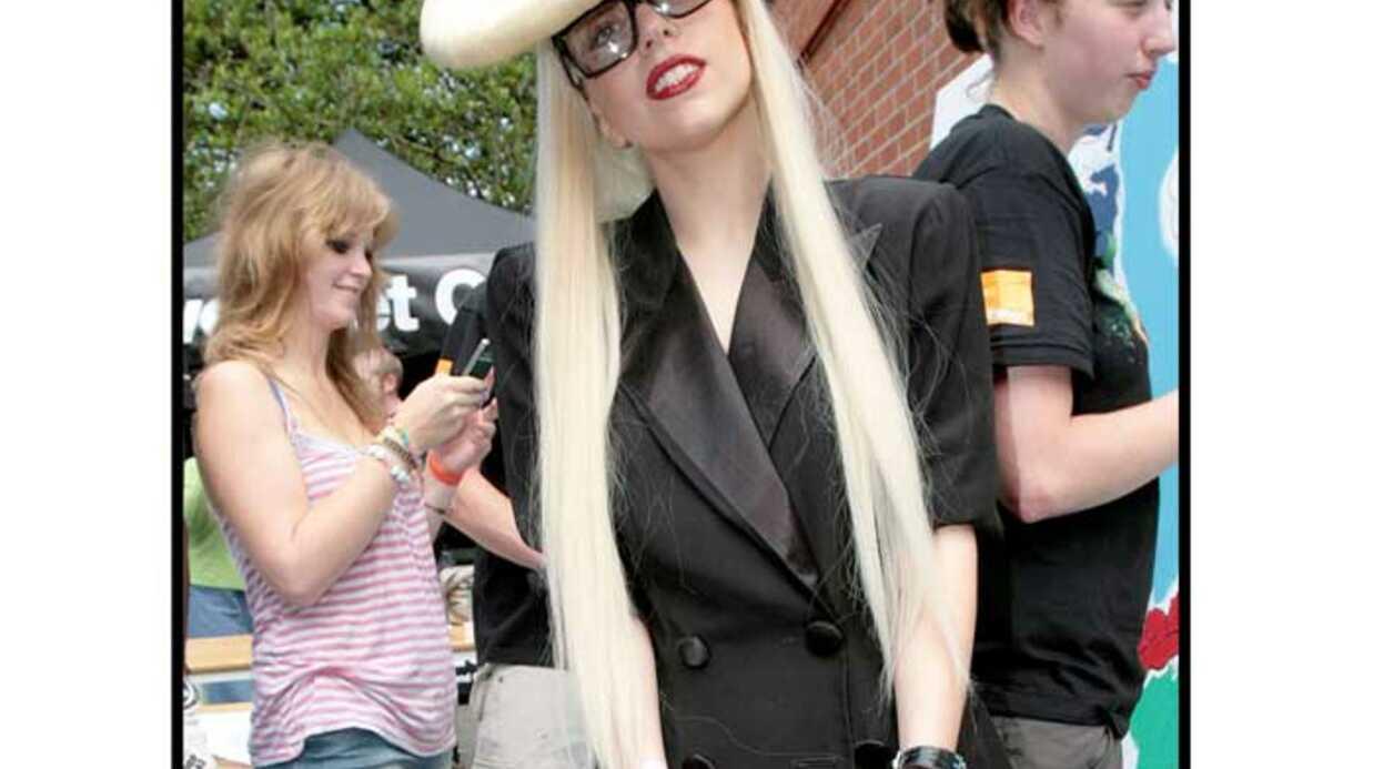 LOOK Lady Gaga: encore une coiffure originale