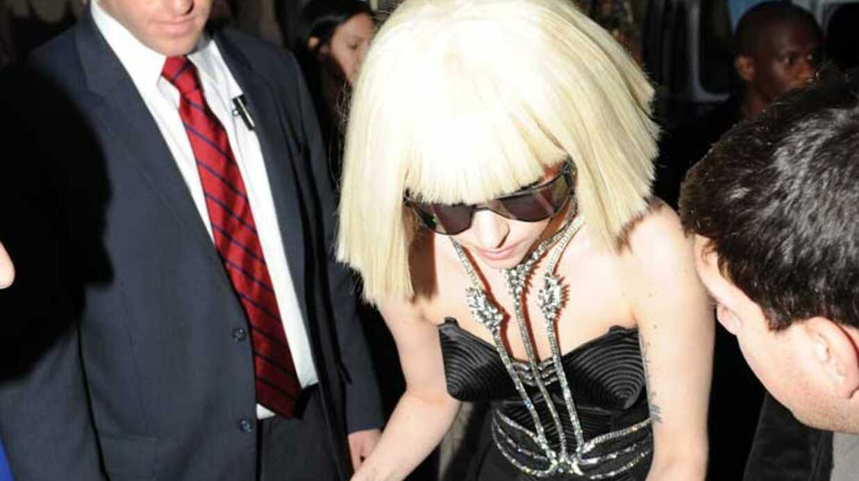 PHOTOS Lady Gaga inspirée par David Bowie