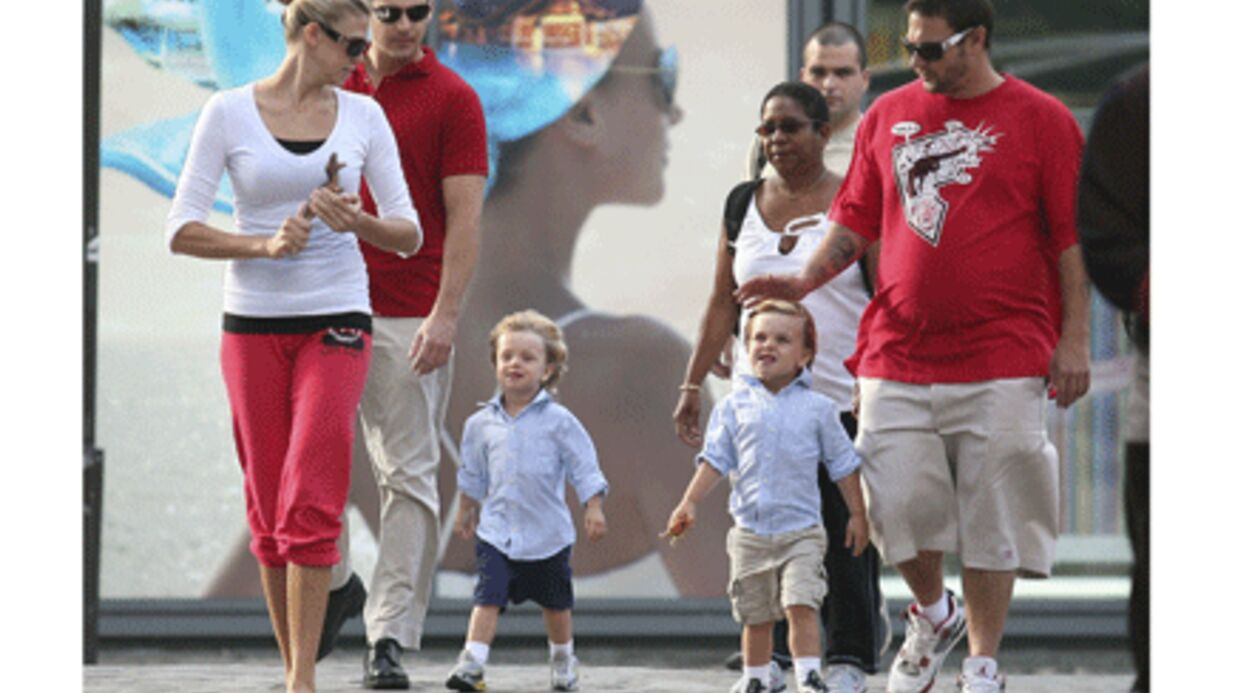 PHOTOS Les fils de Brit­ney Spears s'éclatent à Paris