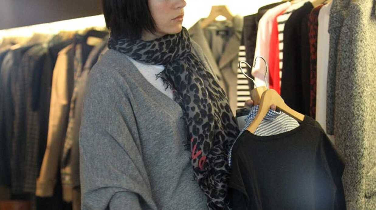 PHOTOS Lily Allen fait du shop­ping à Paris