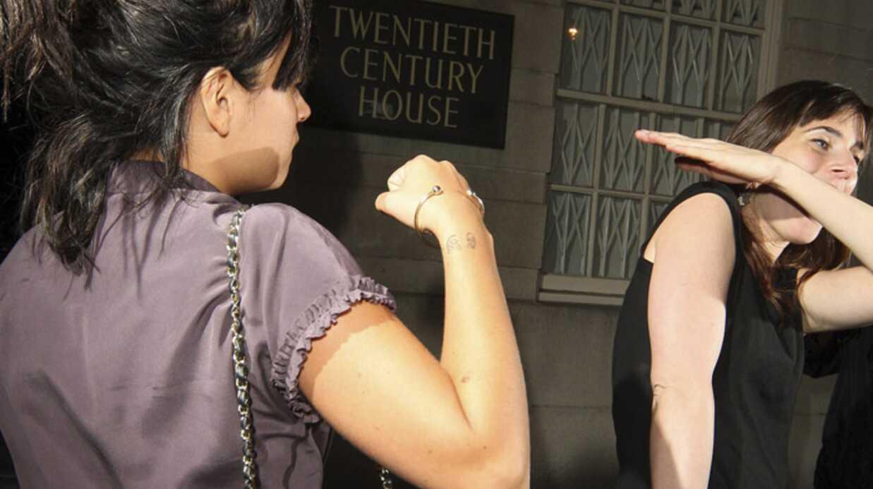 Lily Allen se bat à la sortie d'un club londonien