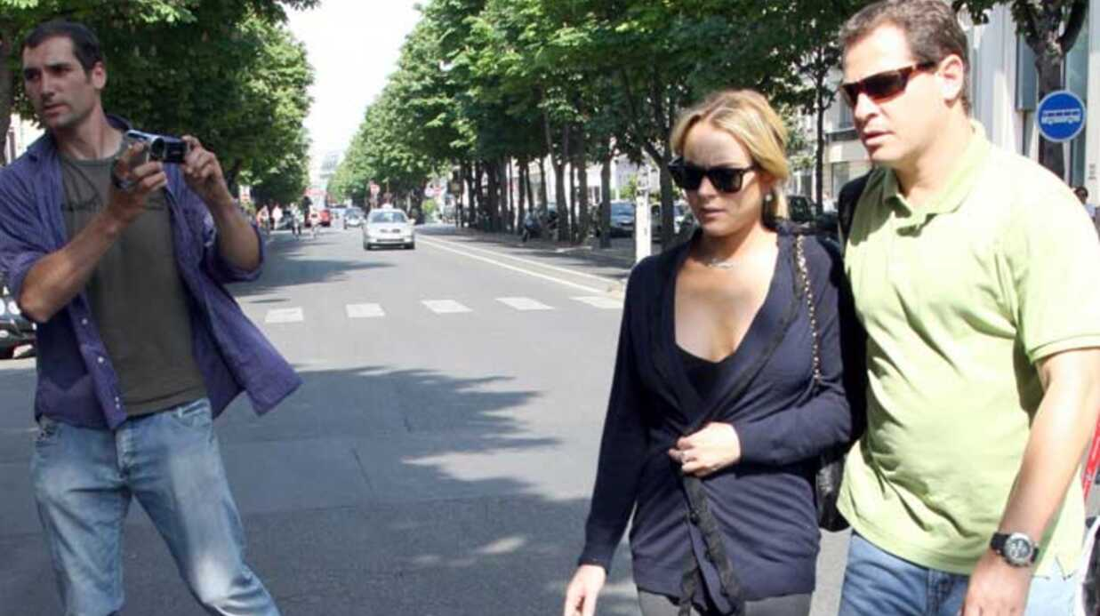 Lind­say Lohan A Paris
