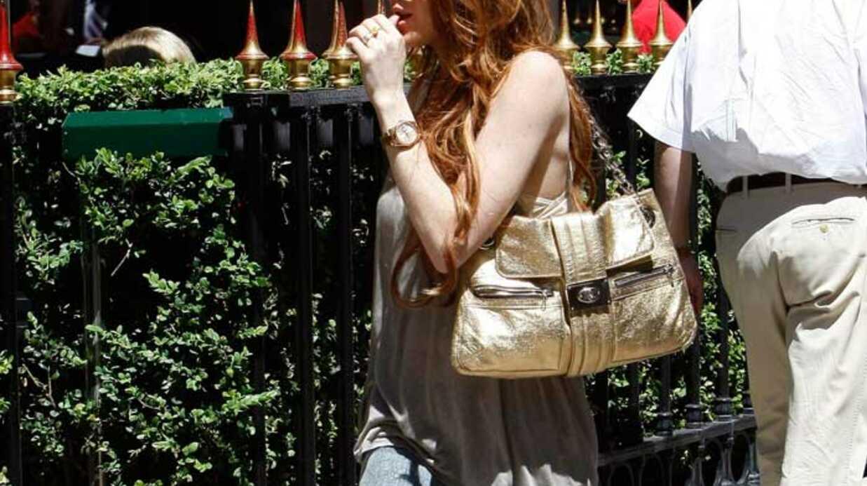 LOOK Lindsay Lohan et ses fautes de goûts parisiennes