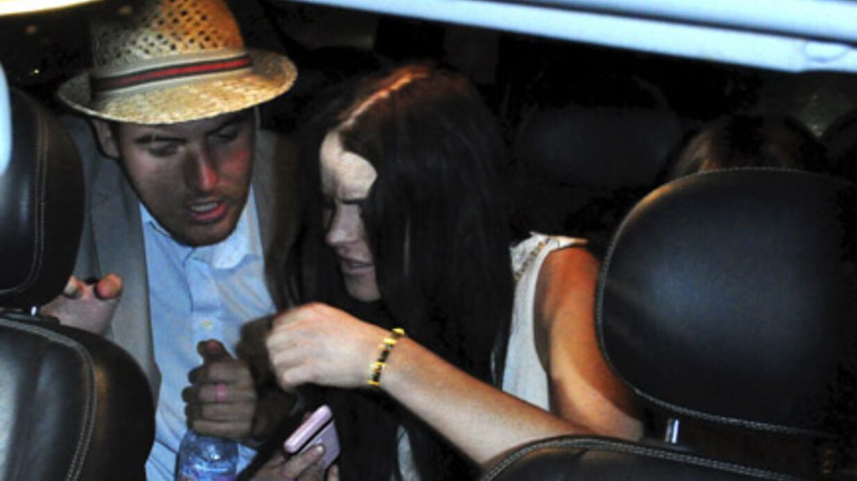PHOTOS Lind­say Lohan au Festi­val de Cannes