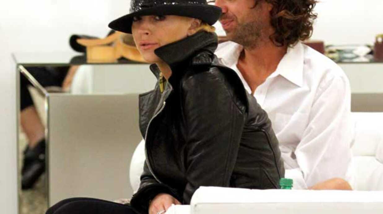 PHOTOS Lindsay Lohan se console en dévalisant les boutiques