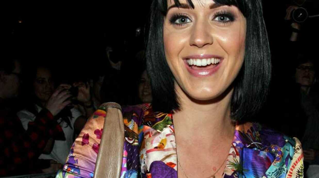 LOOK  Katy Perry a osé l'ensemble à motifs bariolés