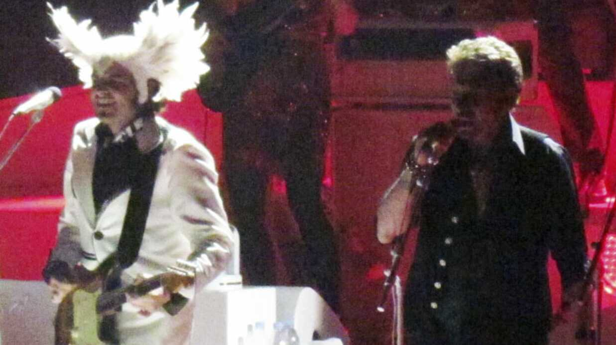 VIDEO: Johnny Hallyday en live à Bercy avec M
