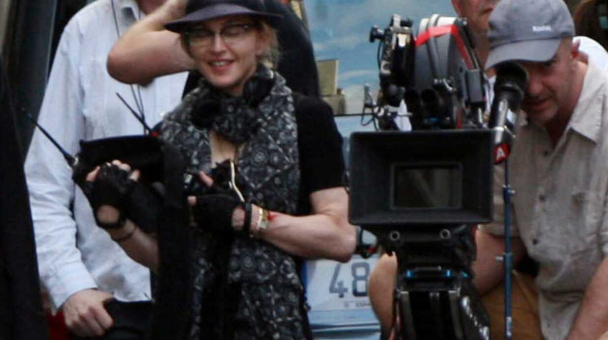 PHOTOS Madonna à Paris pour le tour­nage de son film W.E.
