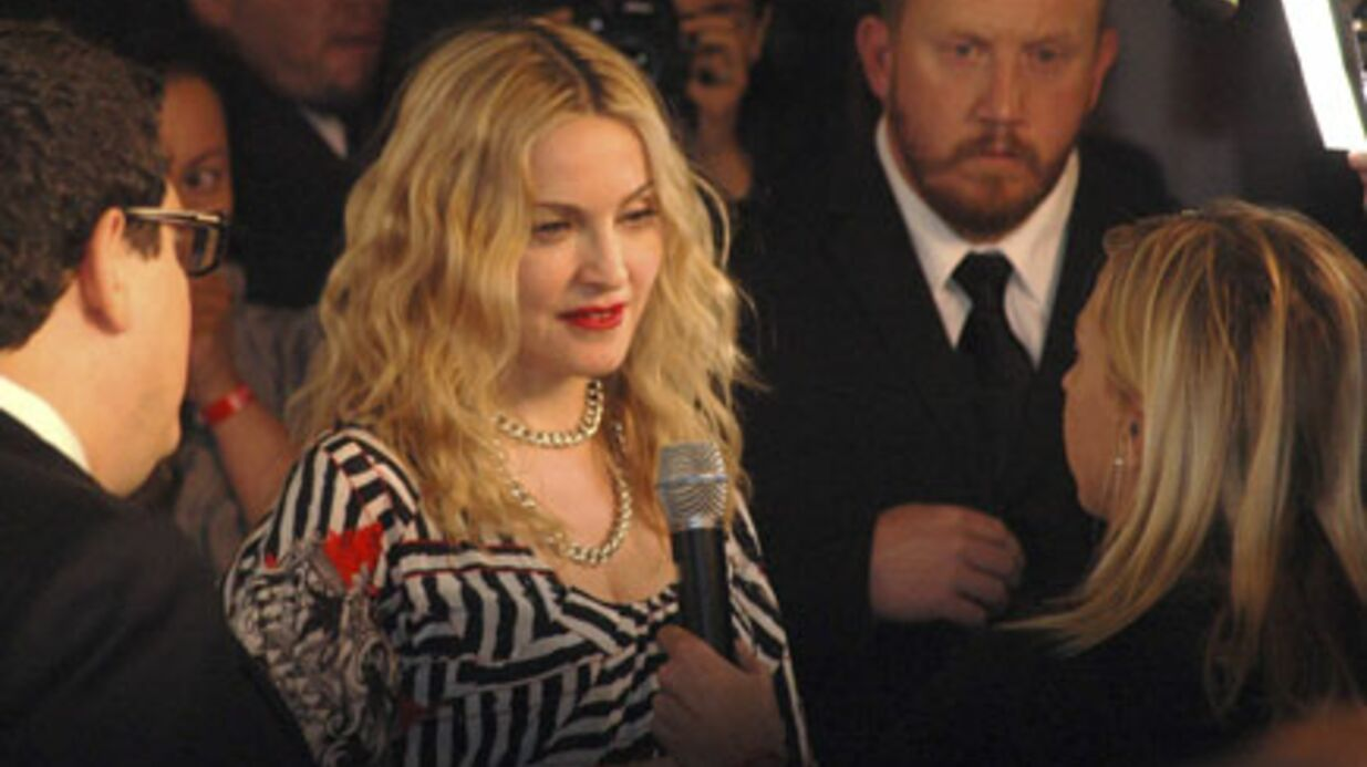 PHOTOS Madonna inaugure sa première salle de fitness