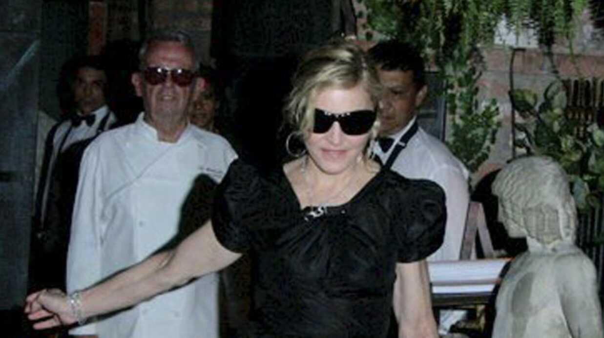 PHOTOS Madonna et Jesus Luz aperçus ensemble