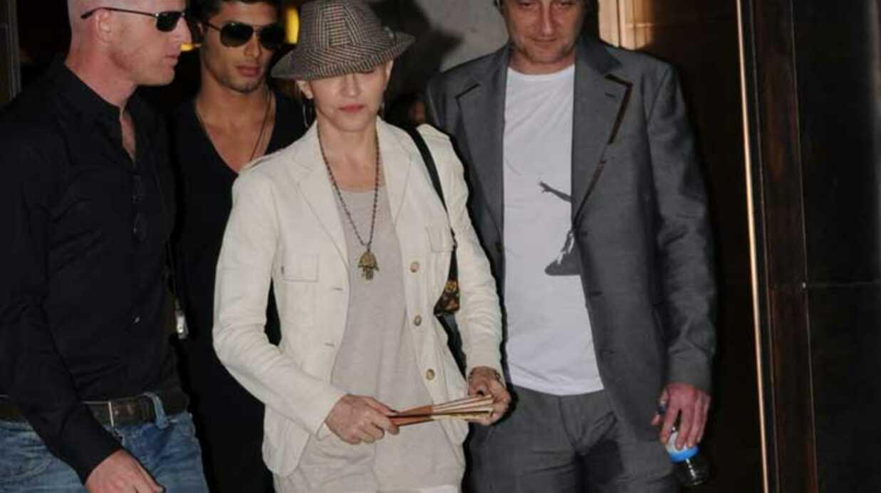 PHOTOS Madonna au musée avec Lourdes et Jesus Luz