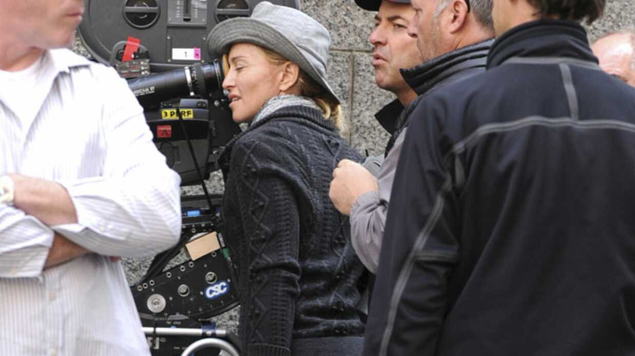 PHOTOS Madonna sur le tour­nage de W.E