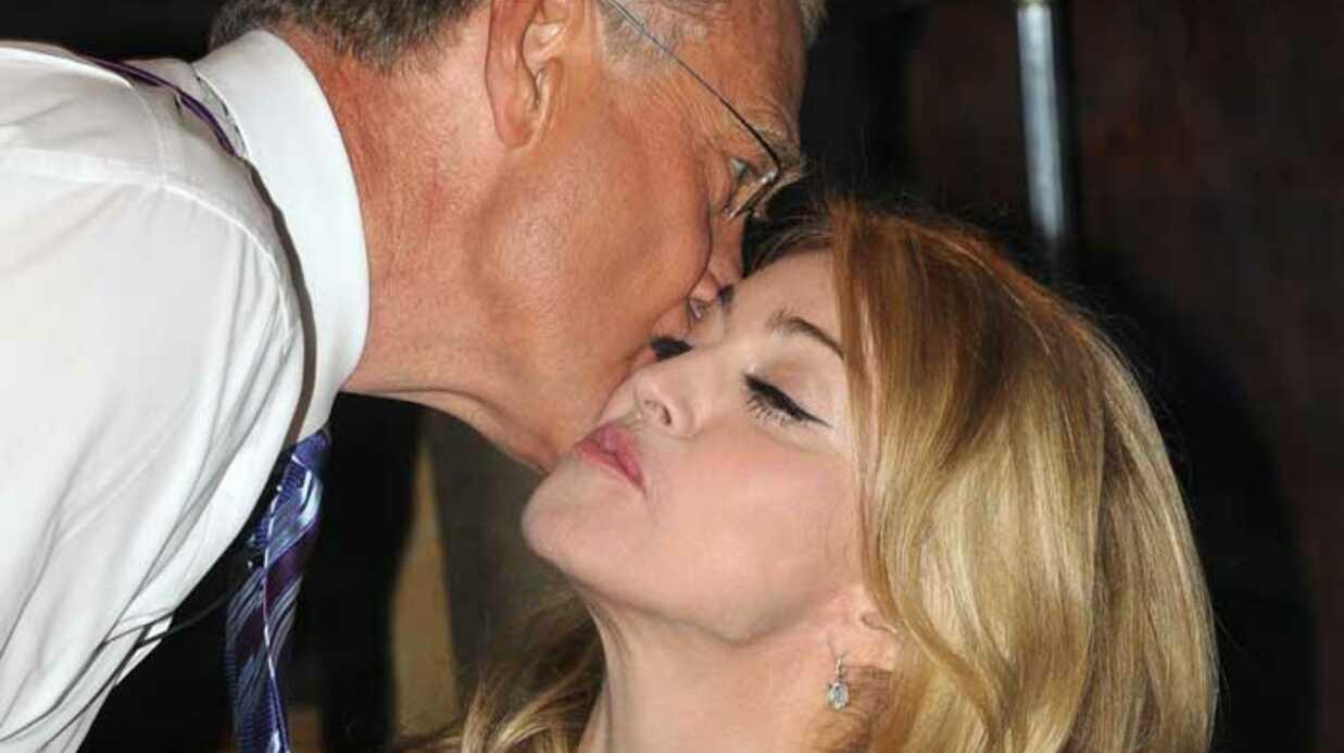 PHOTOS Madonna mange une pizza avec David Lettermann