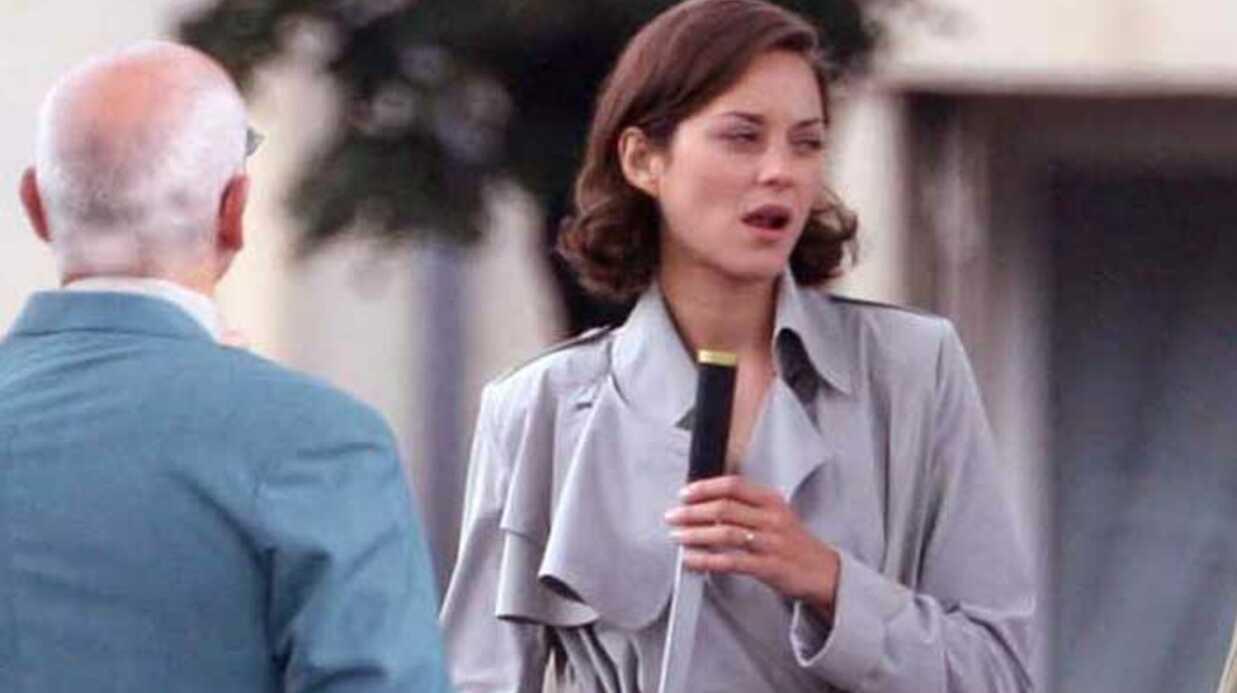 PHOTOS Marion Cotillard en tournage à Paris avec Leonardo Dicaprio