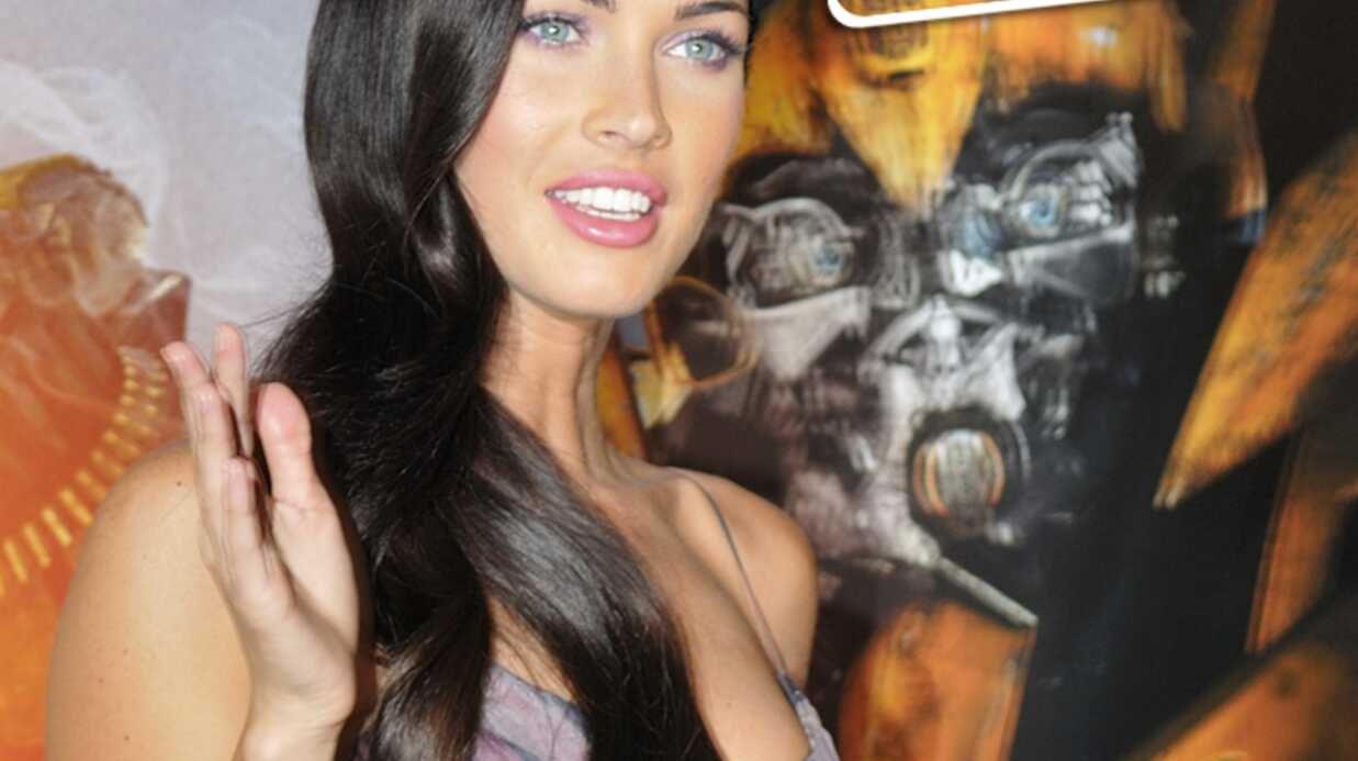 PHOTOS La sexy Megan Fox à Paris pour Trans­for­mers 2