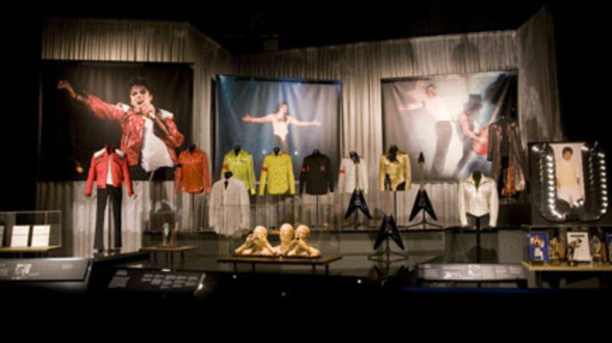 PHOTOS Exposition Michael Jackson à Londres
