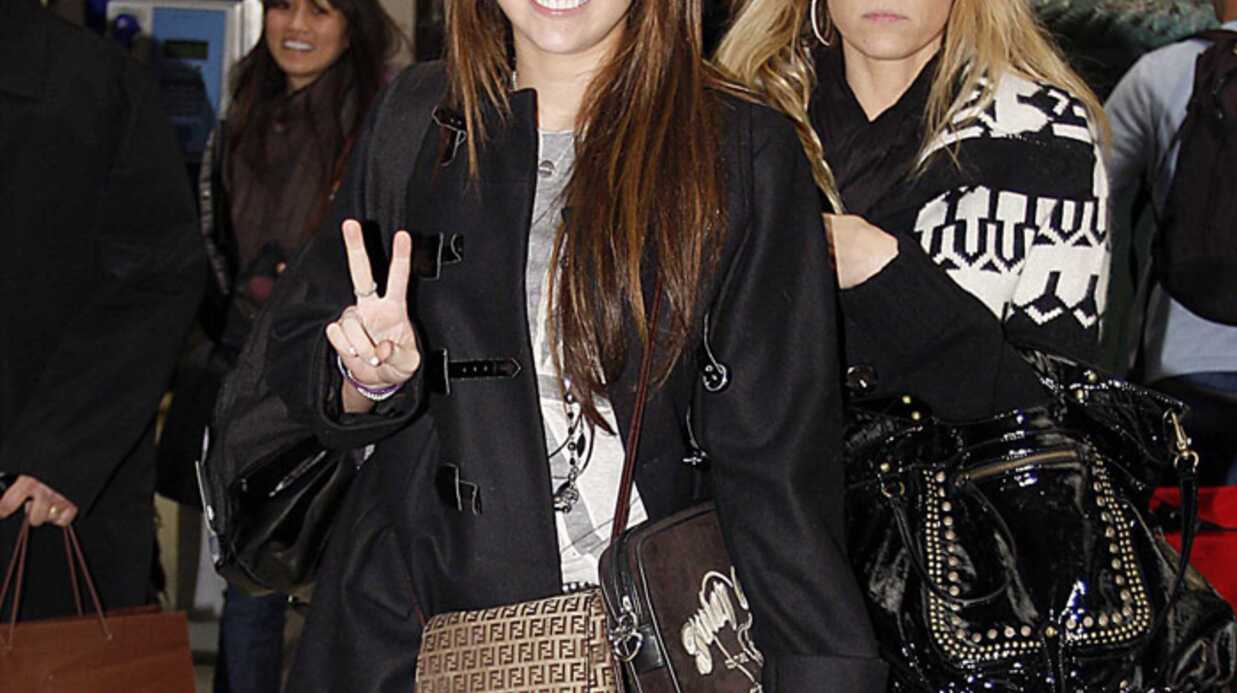 Photos Miley Cyrus: promo et concert privé à Paris