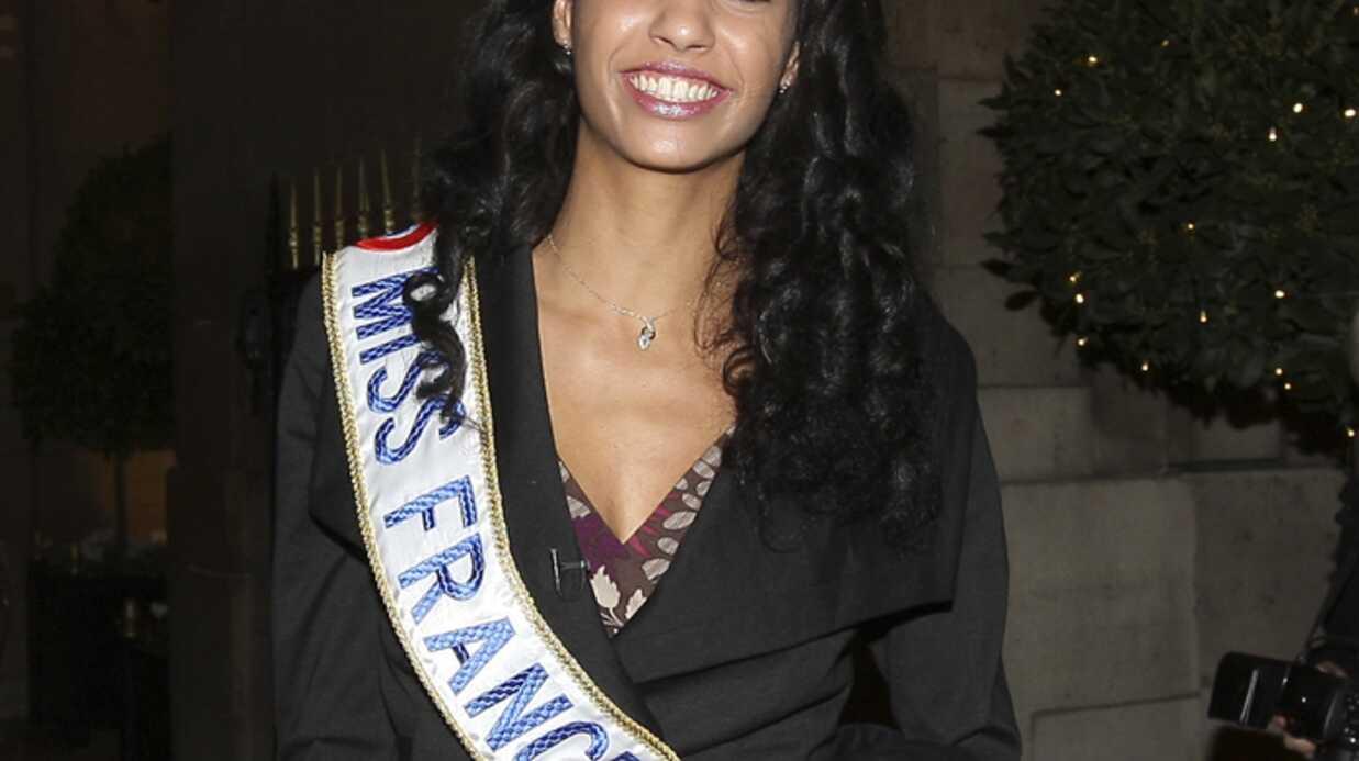 PHOTOS – Miss France 2009: Chloé Mortaud de sortie à Paris