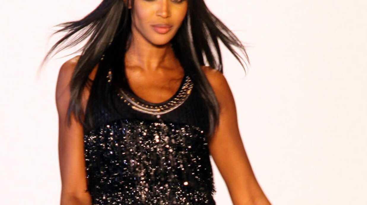 PHOTOS Naomi Campbell défile pour Haïti