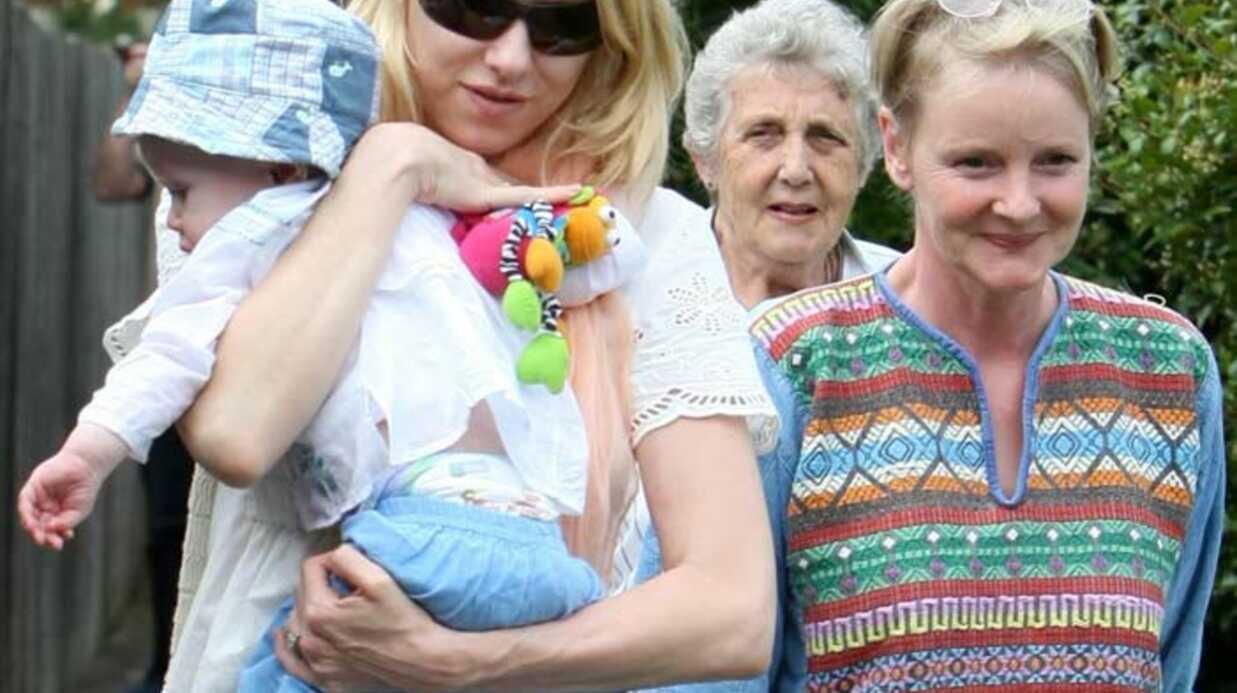 Naomi Watts Une journée chez sa mère