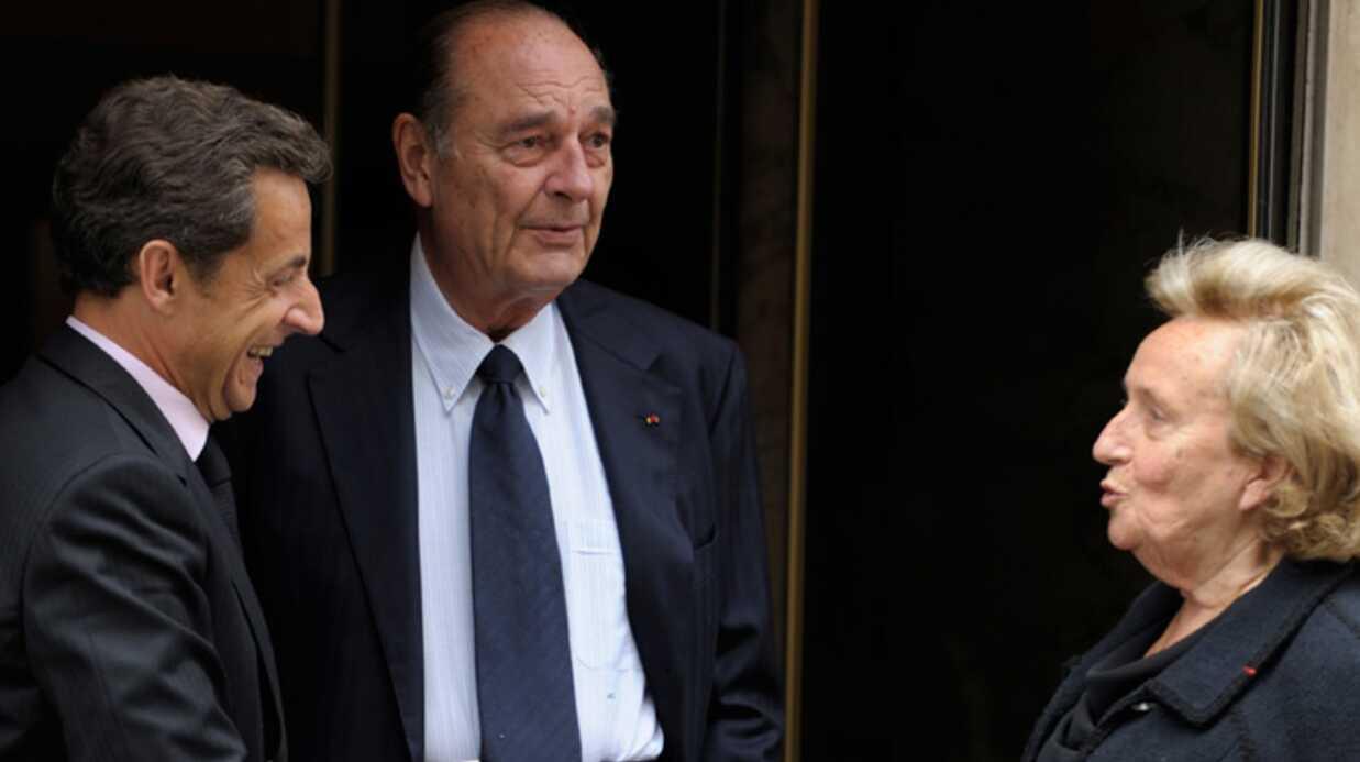 PHOTOS Nicolas Sarkozy a déjeuné avec Jacques Chirac