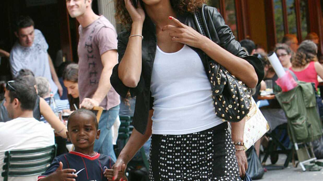 PHOTOS Noemie Lenoir et son fils Kelyan à New York