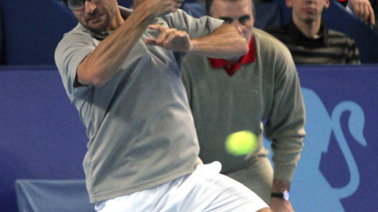 PHOTOS Nolwenn Leroy soutient Arnaud Clément à l'Open de Marseille