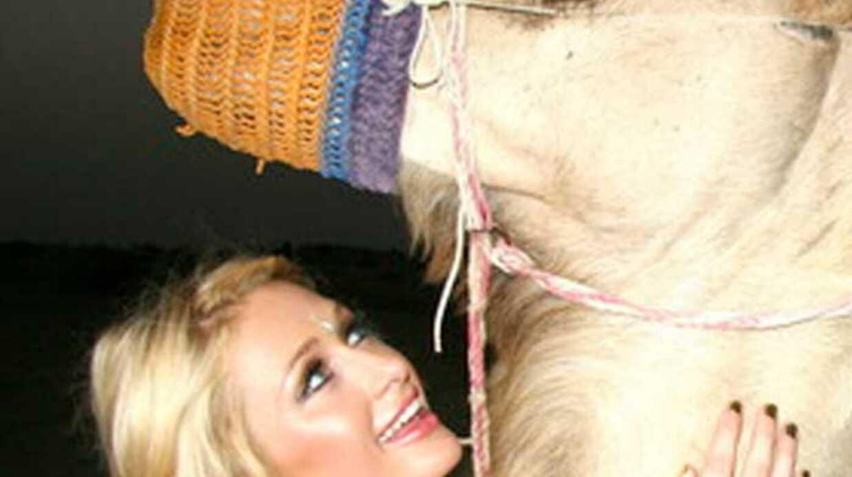 PHOTOS Paris Hilton se plaît à Dubaï selon son Twitter