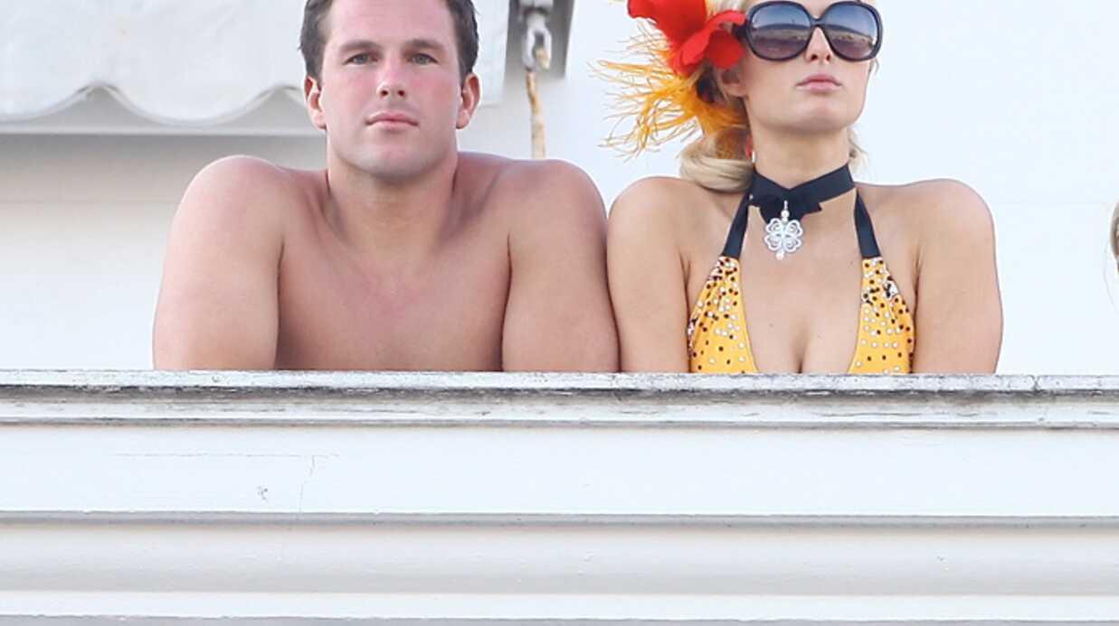 PHOTOS Paris Hilton fête la Saint-Valentin à Rio