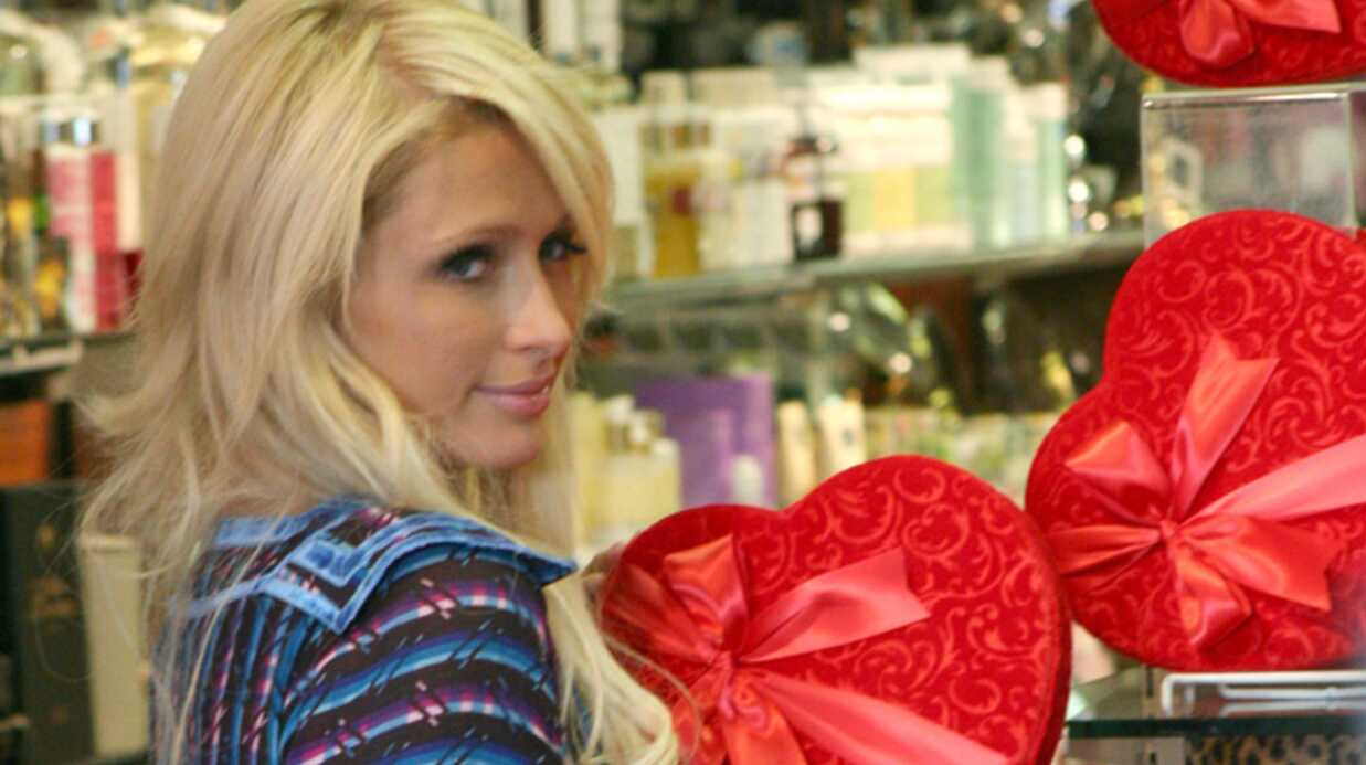 PHOTOS Paris Hilton prépare la Saint-Valentin