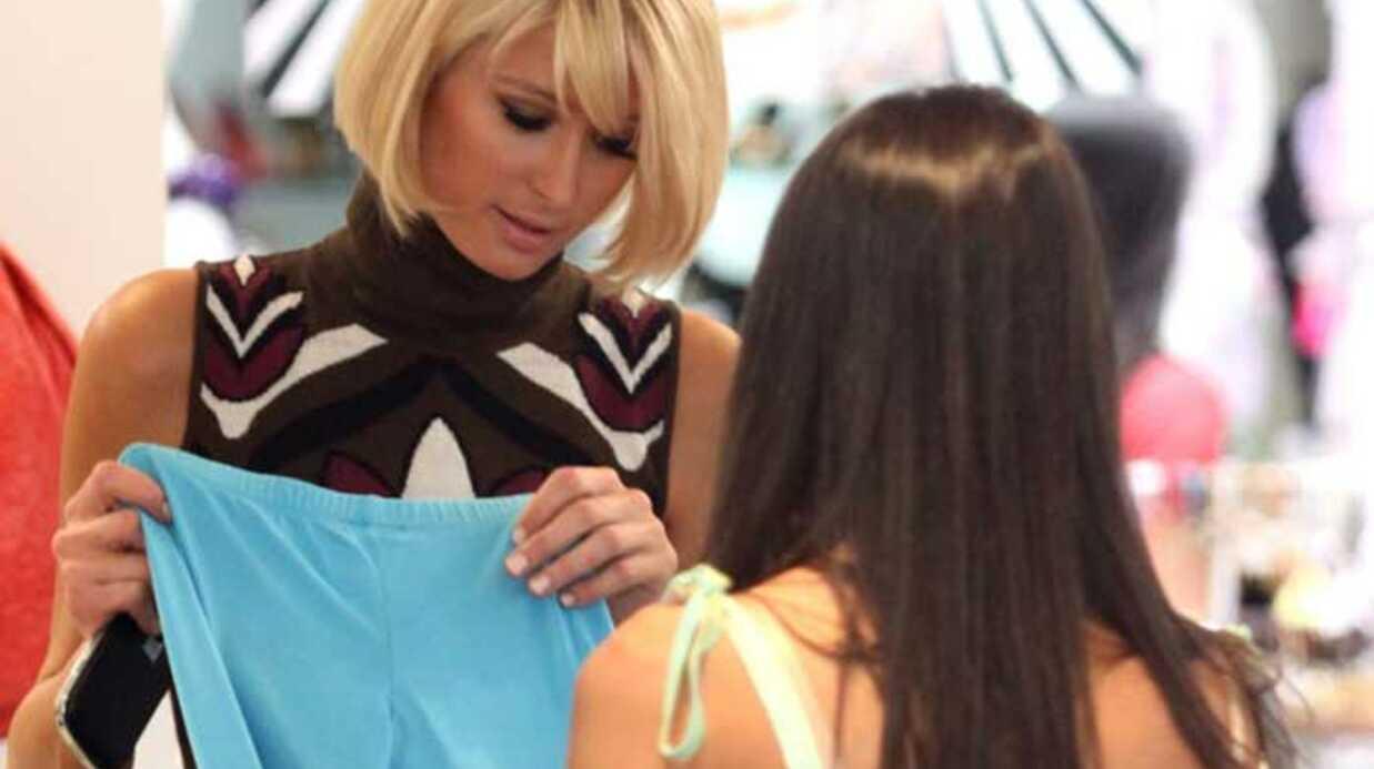 LOOK Le sac géant de Paris Hilton