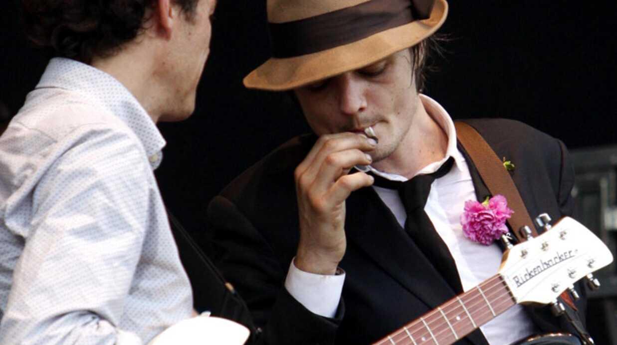 Pete Doherty sur scène, ça déménage…