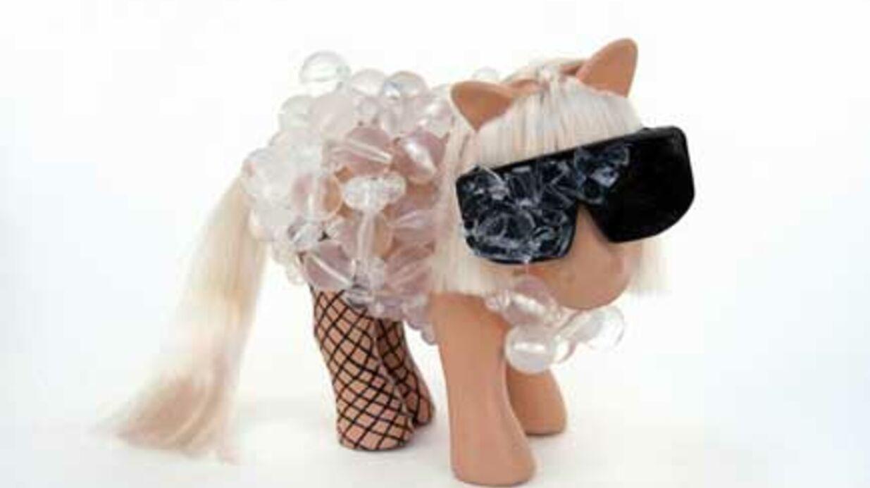PHOTOS Lady Gaga et Michael Jackson en Petits Poneys