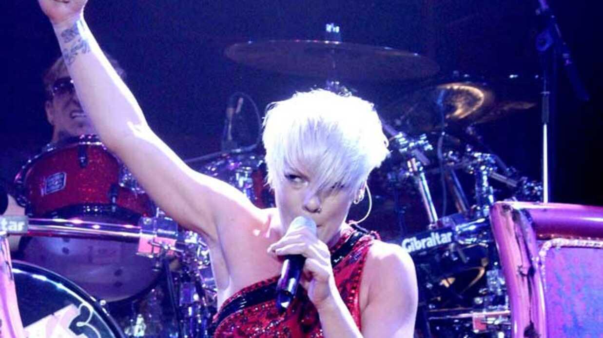 PHOTOS  Le concert de Pink à Paris Bercy