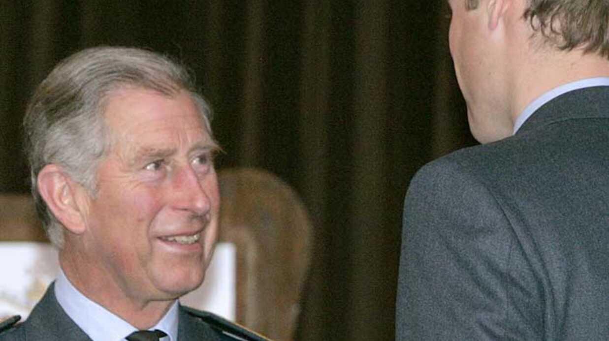 Prince William Décoré par son père