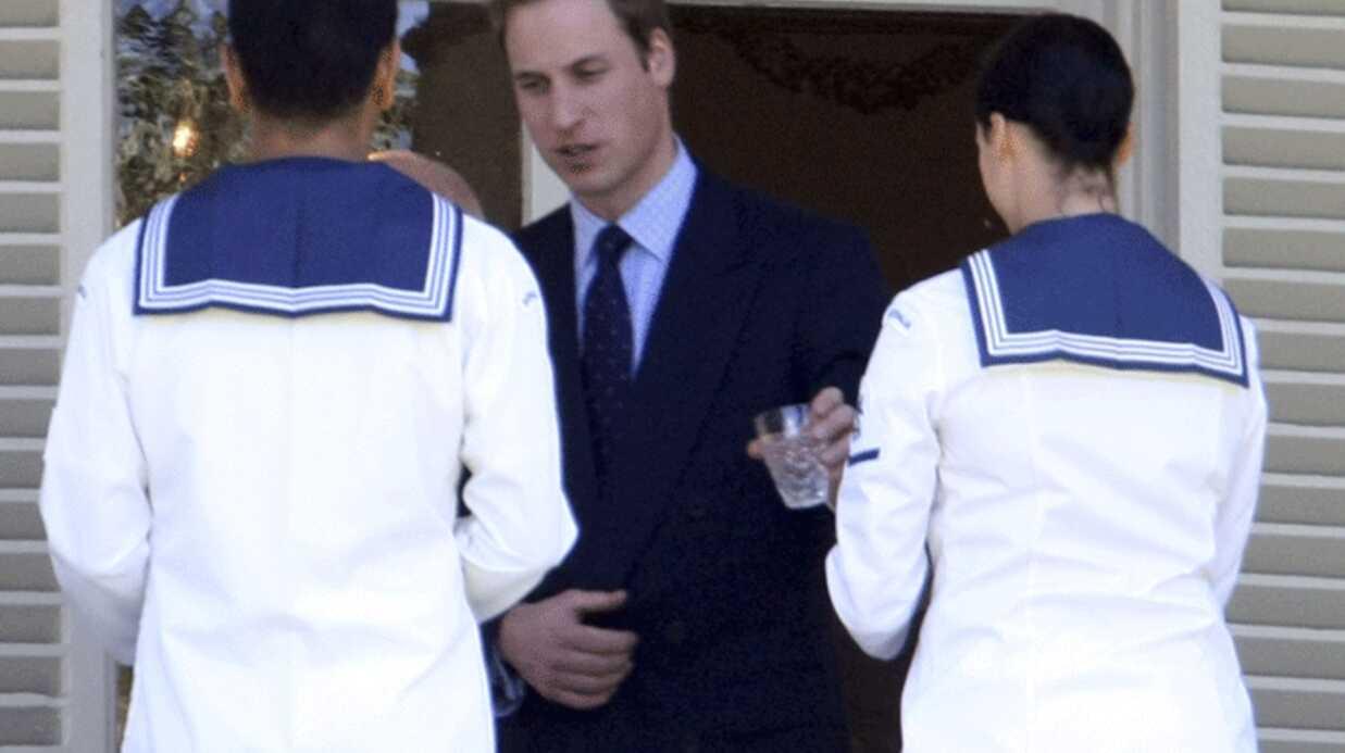 Prince William: un sacré lundi!